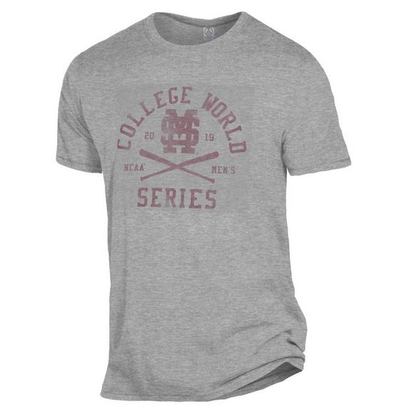 09b70f2c9 Gear for Sports Men's Mississippi State Bulldogs 2019 NCAA College World  Series Short Sleeve Tee