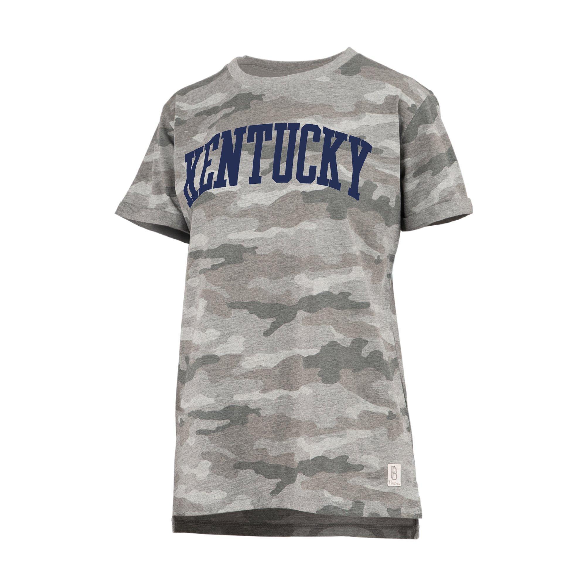 Nitro USA NCAA Kentucky Wildcats Womens Rhinestone UK Fashion Tulip Top