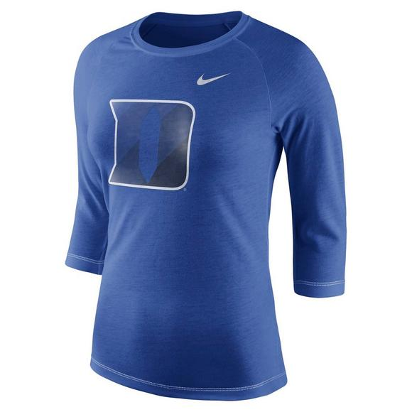 release date: c3499 c1f29 Nike Women s Duke Blue Devils Championship Drive Raglan Tee Shirt - Main  Container Image 1