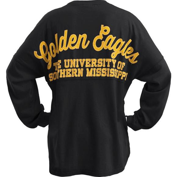 new arrival 30b06 41689 Pressbox Women's Southern Miss Golden Eagles Sequin Sweeper ...
