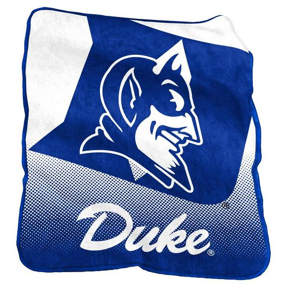 Logo Chair Company Raschel Duke Blue Devils Raschel Blanket
