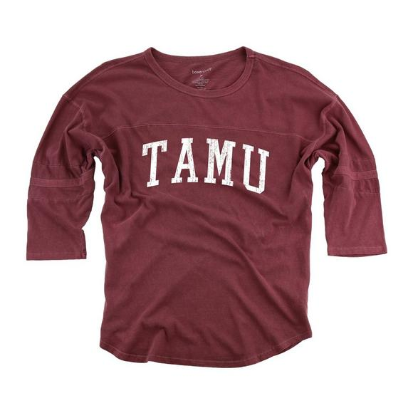 new product 3405e 23ed1 Boxercraft Women's Texas A&M Aggies Vintage Pom Jersey ...