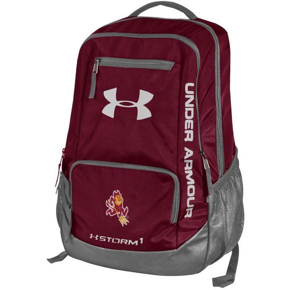 ec48cc04d1 Under Armour Hustle II Arizona State Backpack - Main Container Image 1