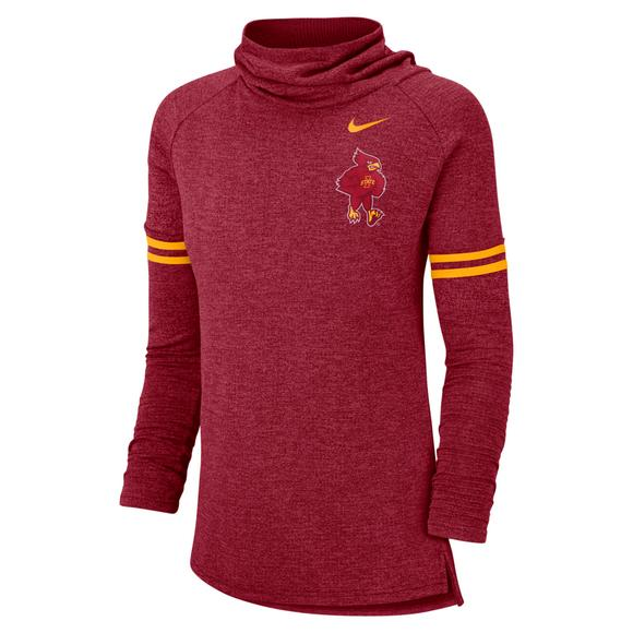 Nike Women s Iowa State Cyclones Funnel Vault Sweatshirt - Main Container  Image 1 4a767bdcd3