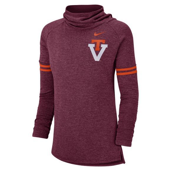 best website 9c13c d2064 Nike Women's Virginia Tech Hokies Funnel Vault Sweatshirt ...