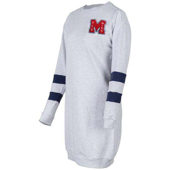 66b9cc87 Ross Sportswear Ole Miss Rebels Varsity Sweatshirt Tunic - Main Container  Image 1