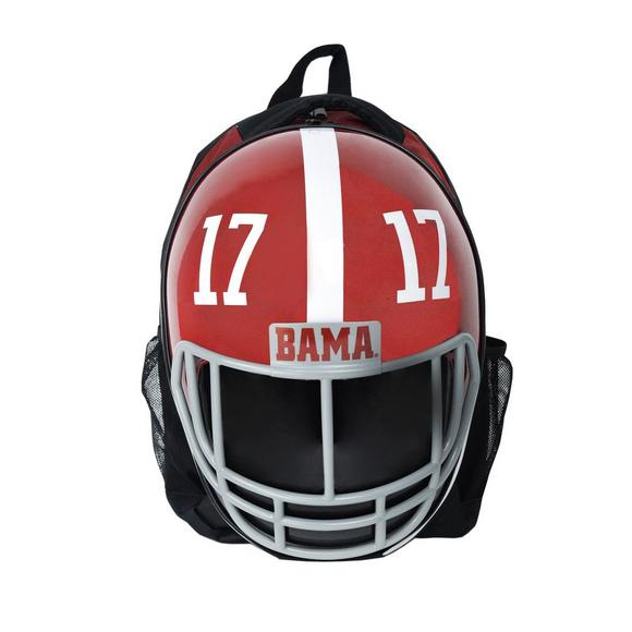 2ac8c9fadba9a7 Star Sports Alabama Crimson Tide Helmet Backpack - Main Container Image 1