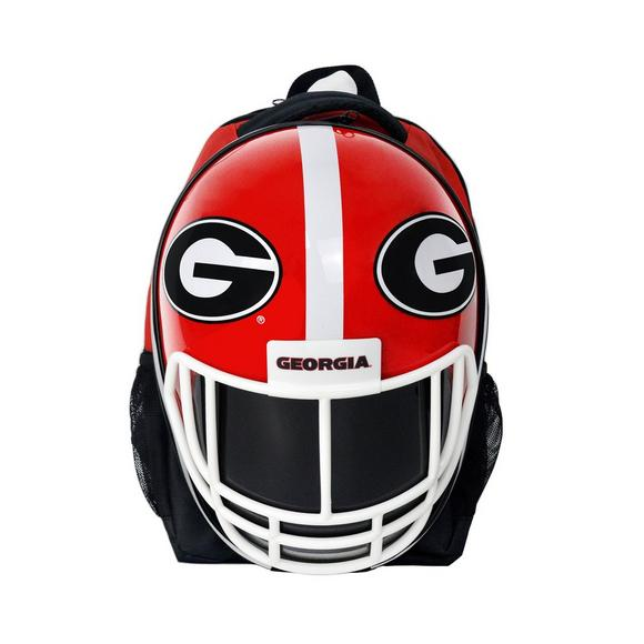 98d1d246aee0a8 Star Sports Georgia Bulldogs Helmet Backpack - Main Container Image 1