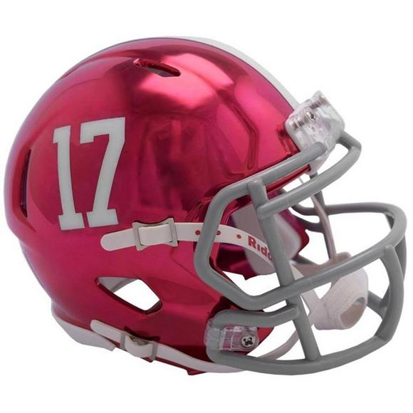 buy popular 5cc21 ed2e0 Riddell Alabama Crimson Tide Chrome Speed Mini Helmet ...