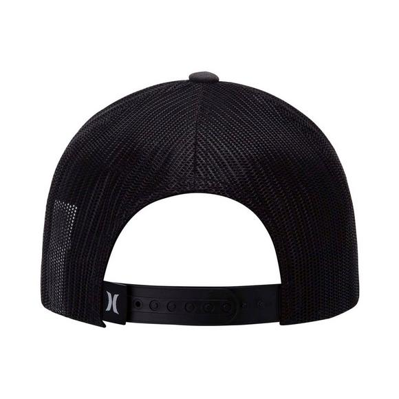 9092b395ae7 Hurley Men s Black Textures Patch Hat - Main Container Image 2