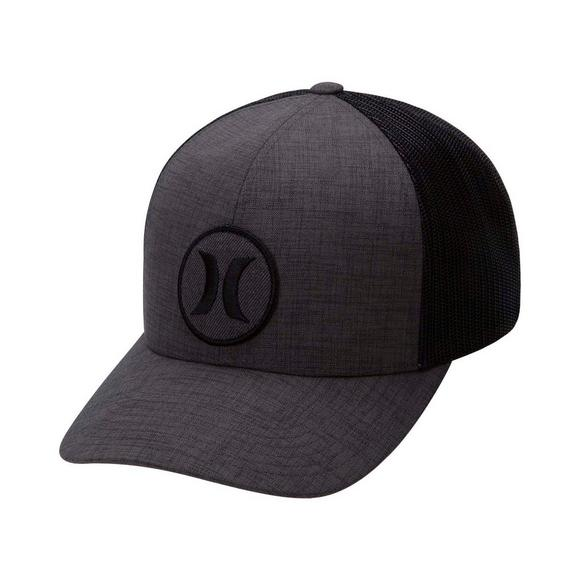 7a2140ea9bf Hurley Men s Black Textures Patch Hat - Main Container Image 1