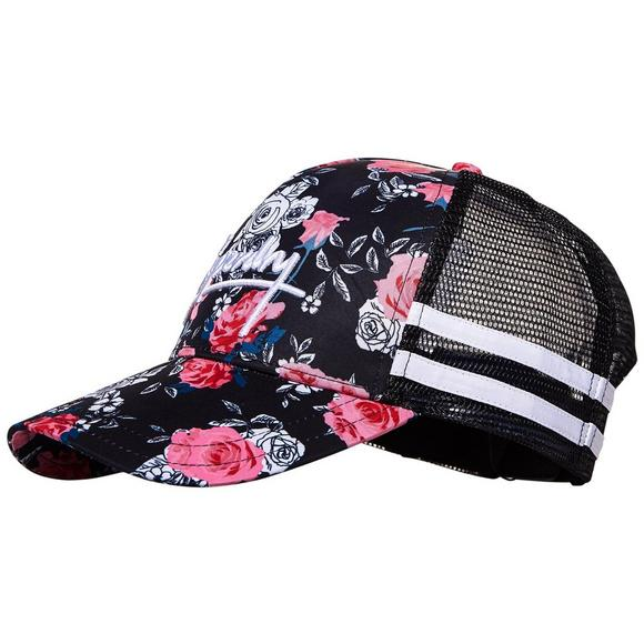 ee83c12d68e Superdry Side Stripe Floral Trucker Hat - Main Container Image 1
