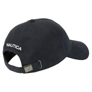 da0091df ... Nautica Adjustable Dad Hat - Black
