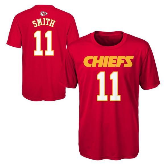 release date 0811c 1b2b8 Gen 2 Youth Kansas City Chiefs Alex Smith Perfect Name ...
