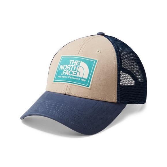 8c05509d The North Face Mudder Trucker Hat - Beige/Blue - Hibbett US