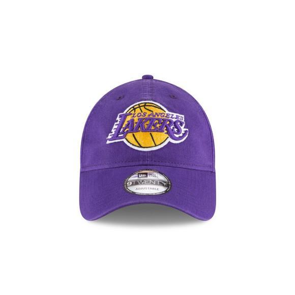 9764e3fd6b8 New Era Los Angeles Lakers 9TWENTY Adjustable Hat - Main Container Image 2