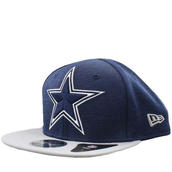5d59a9a5a89 New Era Dallas Cowboy Heather Huge Snapback Cap - Main Container Image 1