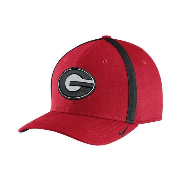 922ba40c Nike Men's Georgia Bulldogs Sideline Classic 99 Adjustable Hat - Main  Container Image 1