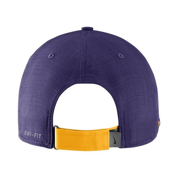ba2380c4 Nike Men's LSU Tigers Sideline Classic 99 Adjustable Hat - Main Container  Image 2