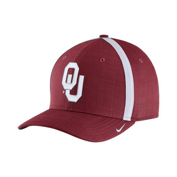 9e3121ad6ff06e Nike Men s Oklahoma Sooners Sideline Classic 99 Adjustable Hat - Main  Container Image 1