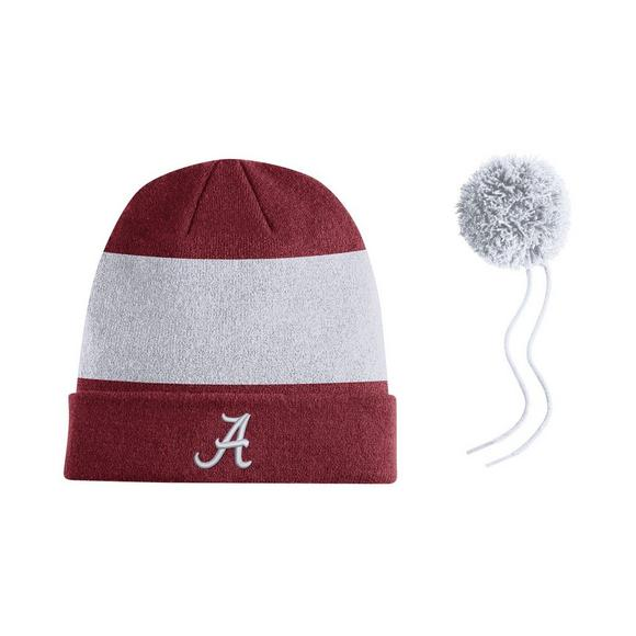 new styles 85d98 79b3c Nike Alabama Crimson Tide Sideline Beanie POM Knit Hat - Main Container  Image 2