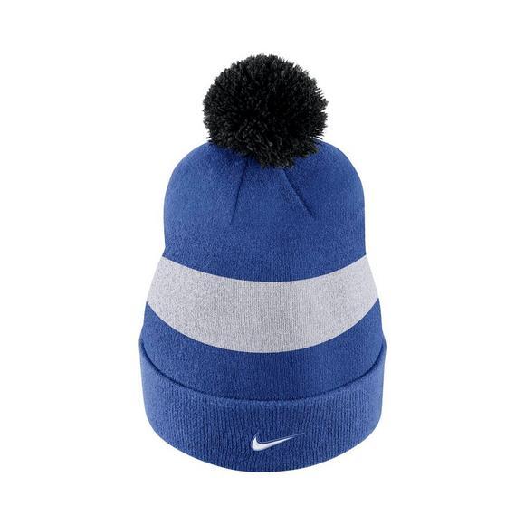 d1629d956a6 Nike Duke Blue Devils Sideline Beanie POM Knit Hat - Main Container Image 3