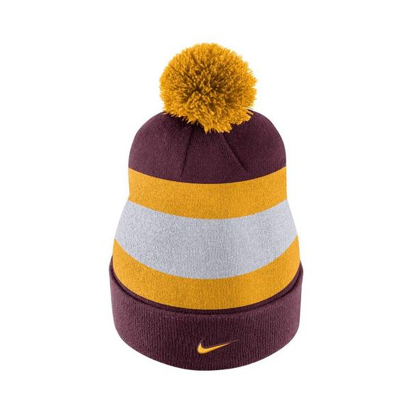 the latest 7076b 0bde4 Nike Minnesota Golden Gophers Sideline Beanie POM Knit Hat - Main Container  Image 3