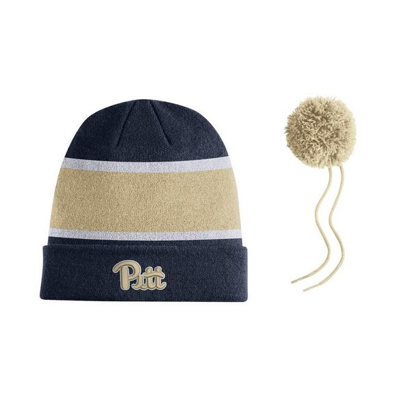 Nike Pittsburgh Panthers Sideline Beanie POM Knit Hat - Main Container  Image 2 1404d82c07d