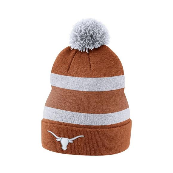 best loved 80bda 8132c ... free shipping nike texas longhorns sideline beanie pom knit hat main  container image 1 bf7ab afd6a ...