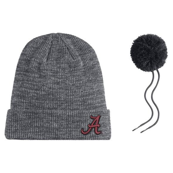 separation shoes 10bf1 55f2b ... coupon code for nike alabama crimson tide heather beanie pom knit hat  main container image 2