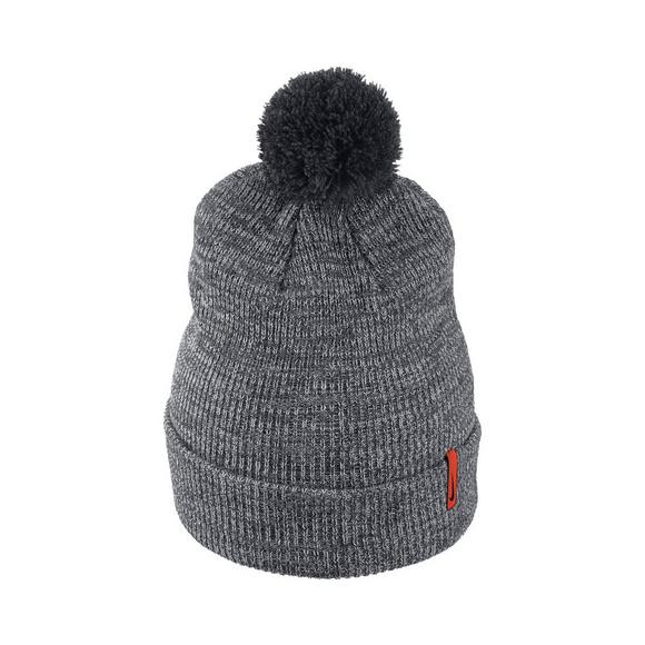 premium selection e15c9 a5ce9 ... new era x mlb promo code for nike clemson tigers heather beanie pom knit  hat main container image 3 70e15 ...