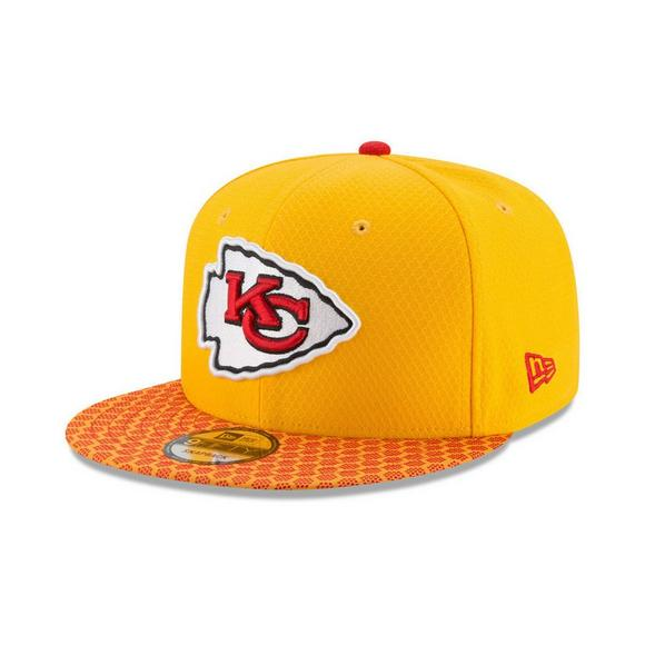 low priced a1590 494c0 New Era Kansas City Chiefs NFL Sideline Snapback Cap - Main Container Image  1