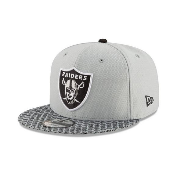 1490cf0b808 New Era Sideline Oakland Raiders Snapback Hat - Main Container Image 1