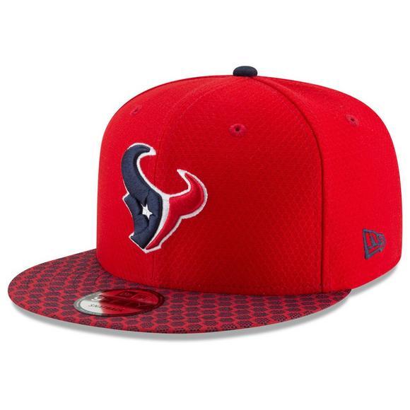 56c4982b2c0c0c New Era Houston Texans NFL Official Sideline Snapback Cap - Hibbett US