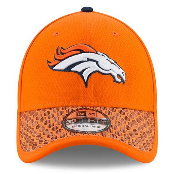 bfe552ceb61 New Era Denver Broncos Sideline Official 39THIRTY Flex Hat - Main Container  Image 2
