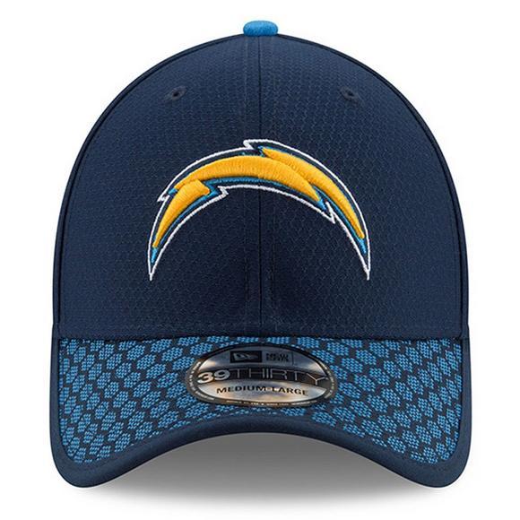 43e52bc2d56ebd New Era Los Angeles Chargers Sideline Official 39THIRTY Flex Hat - Hibbett  US