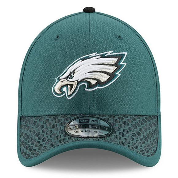 2e166ae501c New Era Philadelphia Eagles Sideline Official 39THIRTY Flex Hat - Main  Container Image 2