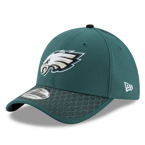 new arrival e066c f9021 New Era Philadelphia Eagles Sideline Official 39THIRTY Flex ...