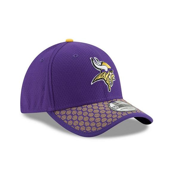 1d7ba9d2c7a95 ... sale new era minnesota vikings sideline official 39thirty flex hat main  container image 3 17ada f14f1