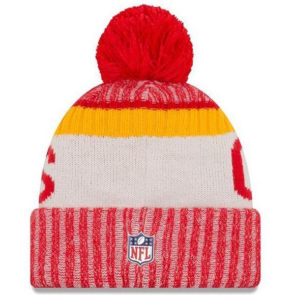 2afb9dd3bdf7e9 New Era Men's Kansas City Chiefs Sideline Official Sport Knit Hat - Main  Container Image 2