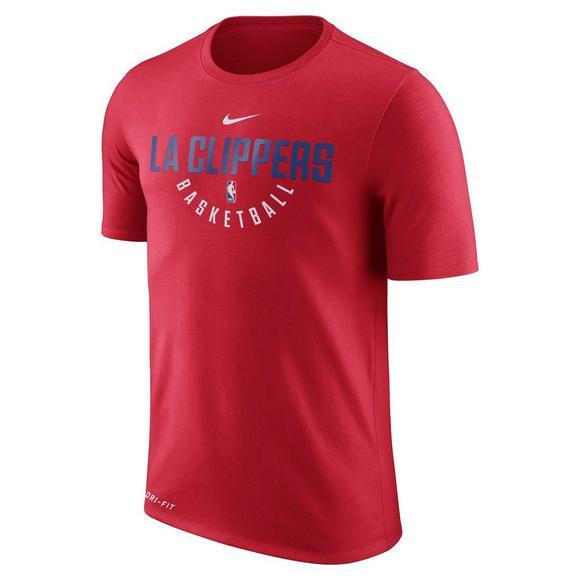 buy popular 7ce96 0a8a4 Nike Men's LA Clippers NBA Practice T-Shirt - Hibbett | City ...