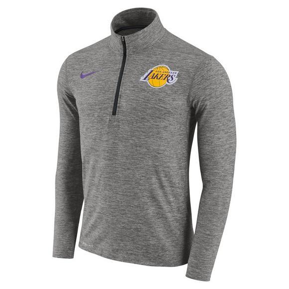 6348fcf0 Nike Men's Los Angeles Lakers Dry NBA Half-Zip Top - Main Container Image 1