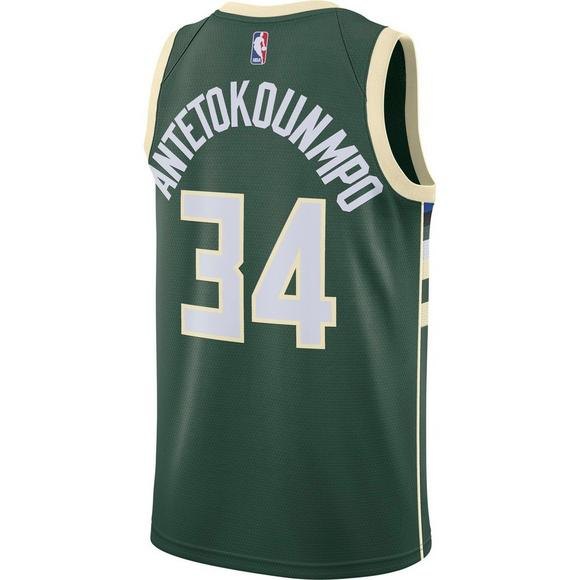 75f69c2bfa3 Nike Men s Milwaukee Bucks G. Antetokounmpo Icon Edition Swingman Jersey -  Main Container Image 2