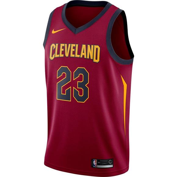 40fd1d14532 Nike Men's Cleveland Cavaliers L. James Icon Edition Swingman Jersey - Main  Container Image 1