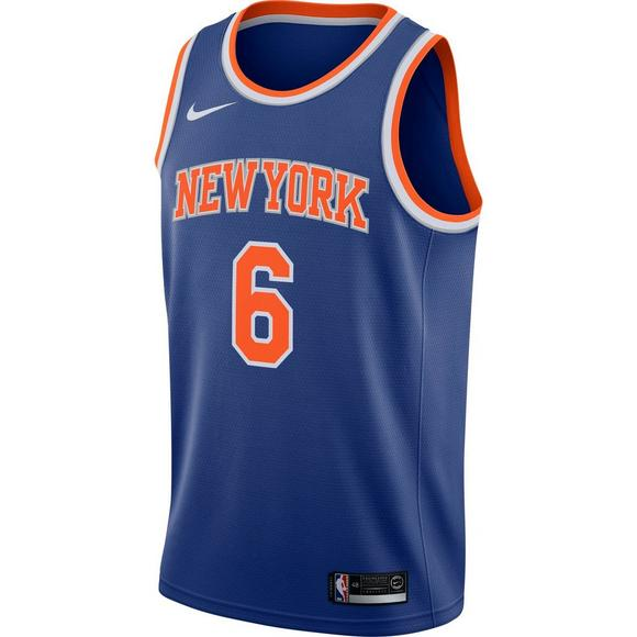 cc551ff4356e Nike Men s NY Knicks K. Porzingis Icon Edition Swingman Jersey - Main  Container Image 1