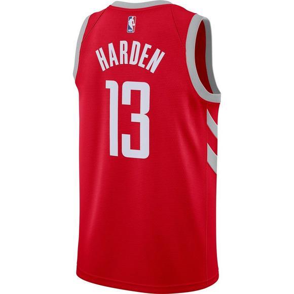 488d798b0 Nike Men's Houston Rockets James Harden Icon Edition Swingman Jersey - Main  Container Image 2