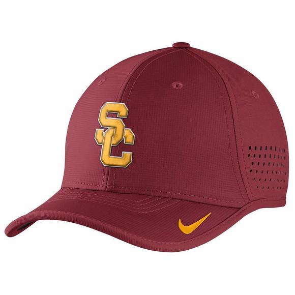 ef0cf6481 Nike USC Trojans Vapor Coaches Adjustable Hat - Hibbett US