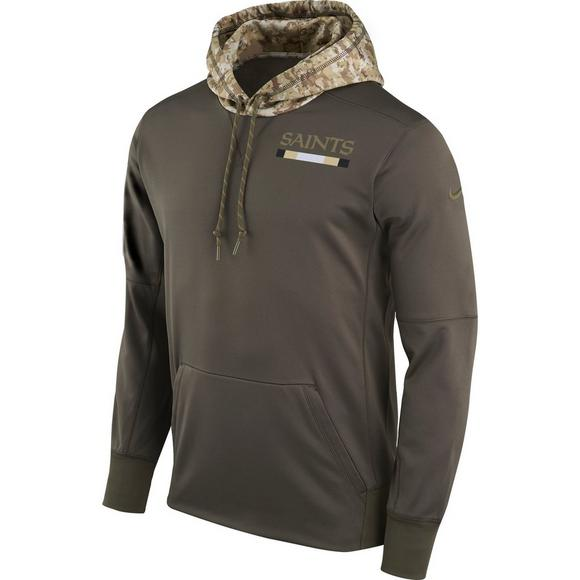 e84da218de932 Nike Men's New Orleans Saints Salute to Service Therma-Fit Hoodie - Main  Container Image