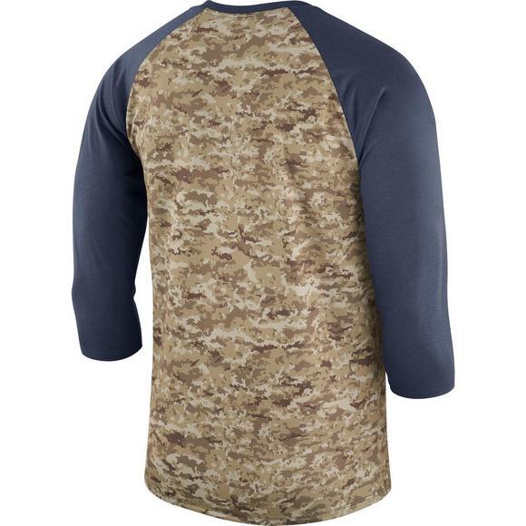 new arrival e46e7 cc797 Nike Men's Carolina Panthers Salute to Service Raglan T ...