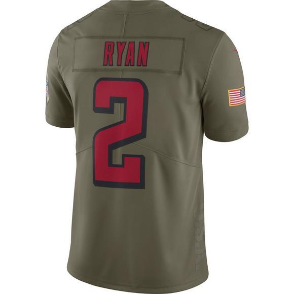 cb517444af4 Nike Men's Atlanta Falcons Matt Ryan Salute to Service Jersey - Main  Container Image 2